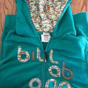 Billabong hoodie 3/4 sleeve